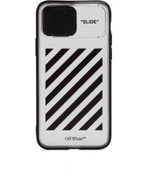 off-white diag slide iphone 11pro case