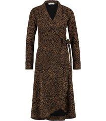 isaya leopard jurk