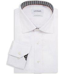 contemporary-fit spread-collar dress shirt
