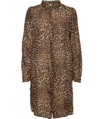 leonora long shirt nattlinne brun underprotection