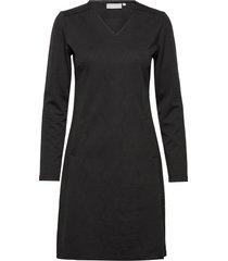 frgisun 1 dress knälång klänning svart fransa