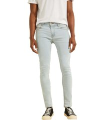 jeans super skinny eco luxe azul guess