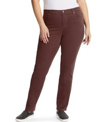gloria vanderbilt women's plus amanda average length jean