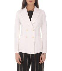 barena white dalia sagia jacket