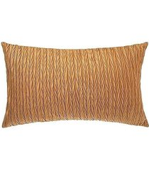 poduszka dekoracyjna prostokątna plusle żółta