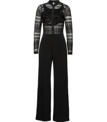 tuta elegante con volant (nero) - bodyflirt boutique