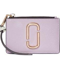 marc jacobs the snapshot multi wallet - purple