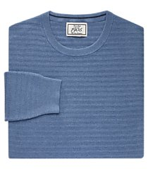 1905 collection cotton crew neck men's sweater - big & tall clearance