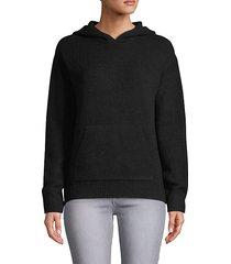 wool blend hoodie