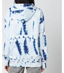 isabel marant étoile women's mansel hoodie - blue - fr 40/uk 12