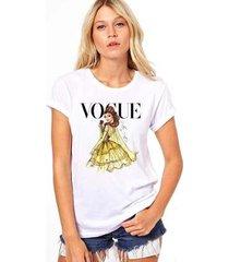 camiseta coolest bella vogue feminina - feminino