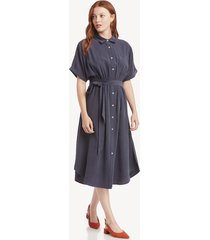 the good jane women's karen shirt dress in color: navy size xs from sole society