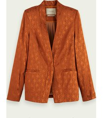 scotch & soda blazer met paisleyprint