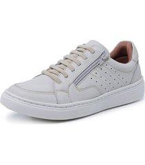 sapatenis sandalo soft walk off white