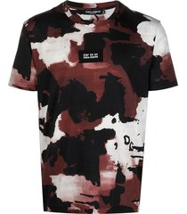 st. camouflage round t-shirt