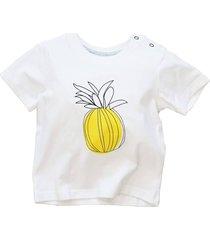 camiseta manga curta abacaxi blade and rose - branco - dafiti