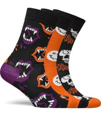 halloween gift box underwear socks regular socks multi/mönstrad happy socks