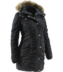 giacca prémaman regolabile con cappuccio (nero) - bpc bonprix collection