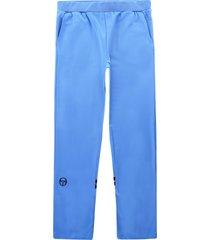 sergio tacchini orion pants   azure blue   14595-233