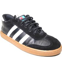 tenis casuales younglife force negro / crepe