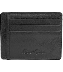 sainz embossed leather card case