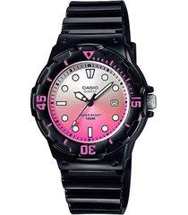 reloj casio lrw_200h_4ev negro resina