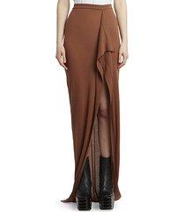 soft grace cashmere knit maxi skirt