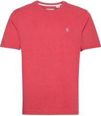 small logo t-shirt t-shirts short-sleeved röd original penguin