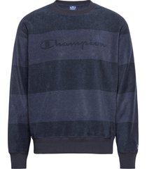 crewneck top sweat-shirt trui blauw champion