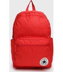 mochila go backpack rojo converse