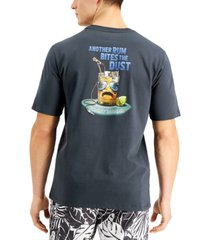 tommy bahama men's another rum bites the dust graphic t-shirt