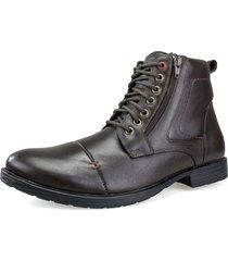 bota coturno florense marrom - marrom - masculino - dafiti
