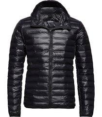 varilite hooded down jacket gevoerd jack zwart adidas performance
