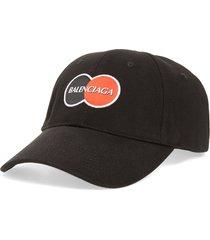 men's balenciaga logo baseball cap -