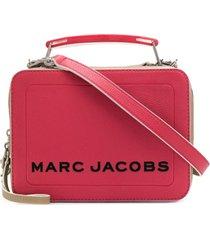 marc jacobs bolsa tiracolo box - rosa