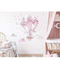 balon różowy - naklejka na ścianę