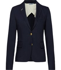 club blazer blazer colbert blauw gant