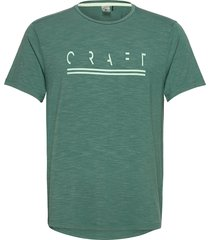 core sence ss tee m t-shirts short-sleeved grön craft