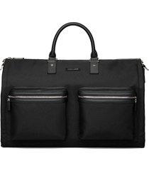 men's hook + albert garment duffle bag - black