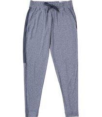 pantalón azul under armour recover fleece pants