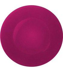sousplat vidro 31 cm rosa bormioli rocco