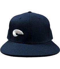 gorra azul buxter snapback  spit