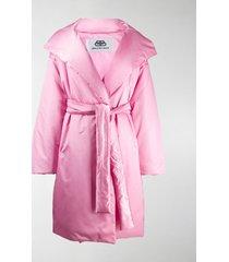balenciaga oversized puffer coat