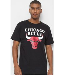 camiseta nba chicago bulls big logo masculina