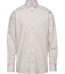 ice cream flamingo shirt - contemporary fit skjorta business rosa eton