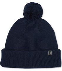 pga tour men's pom pom beanie