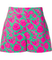 la doublej summer shorts - green