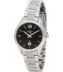 relógio feminino backer analógico 10272123f