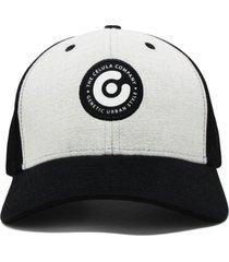 boné célula baseball mescla preto - kanui