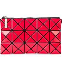 bao bao issey miyake prism flat pouch - pink